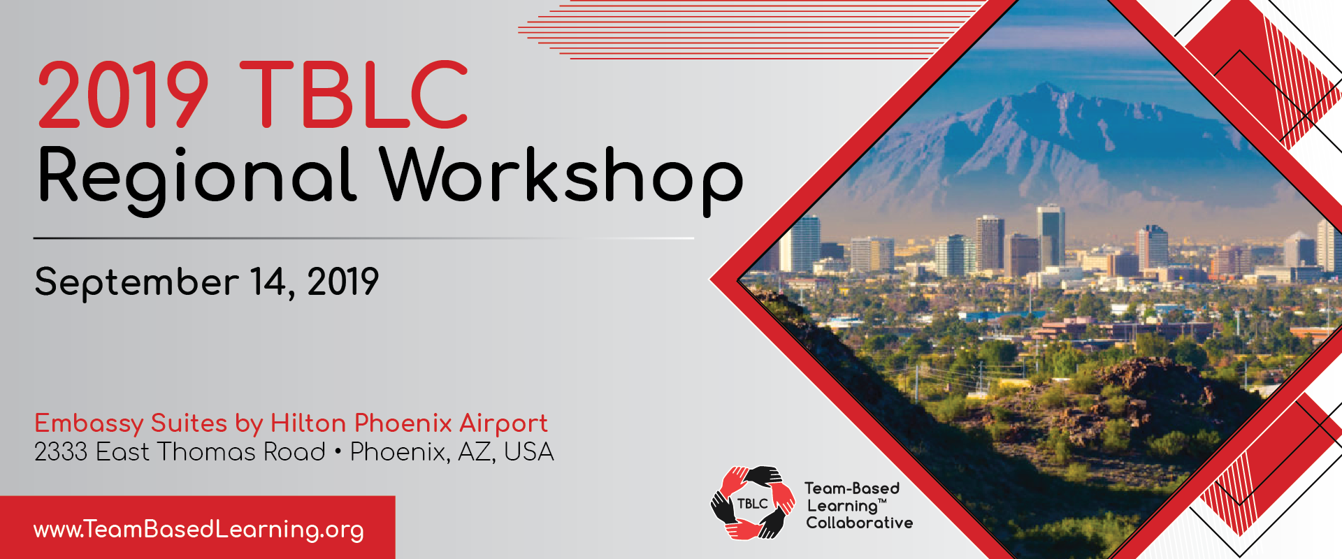 2019 TBLC Regional Workshop - Phoenix