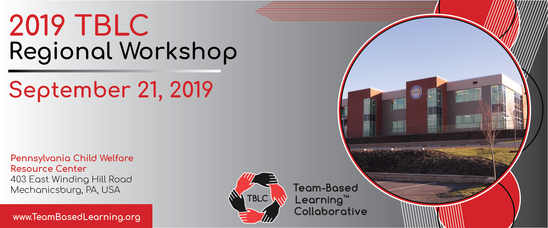 2019 TBLC Regional Workshop - Mechanicsburg, PA