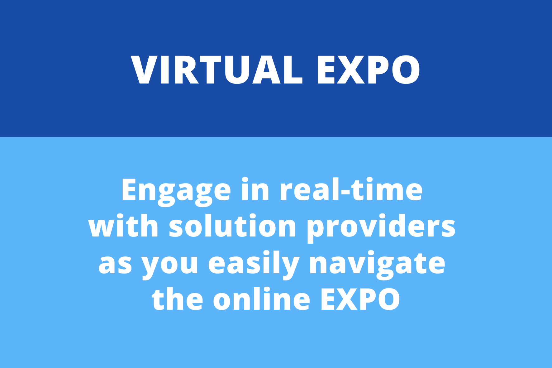 Promo Box - Virtual Expo