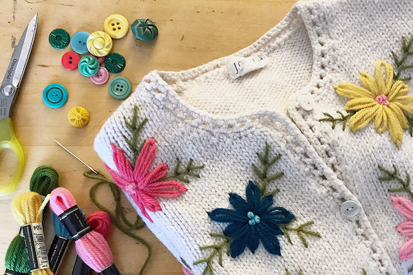 Embroider Your Knits