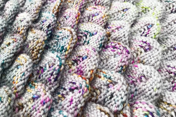 The Art of Knitting 3D Dragon Scales