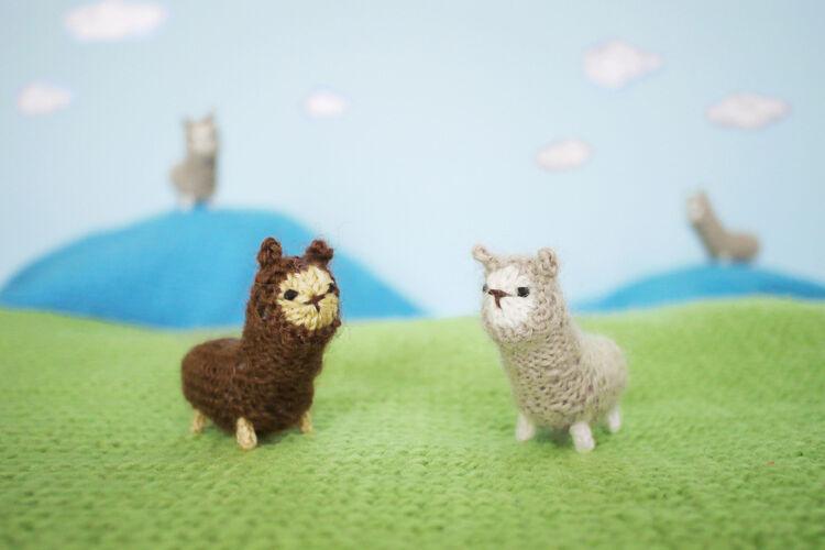 Short Rows in Toy Knitting: Tiny Alpaca