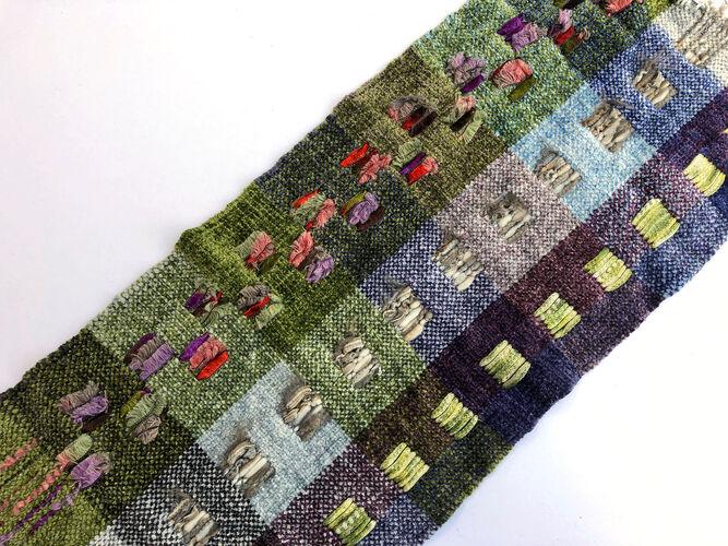 Rigid Heddle Weaving: Supplementary Warp