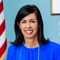 Federal Communications Commission Acting Chairwoman Jessica Rosenworcel