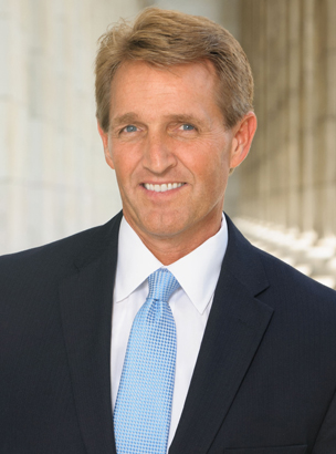 Sen. Jeff Flake Headshot