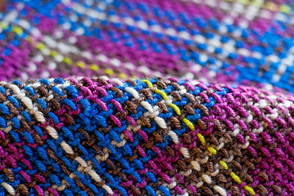 The Knitted Plaid: A Color and Pattern Workshop