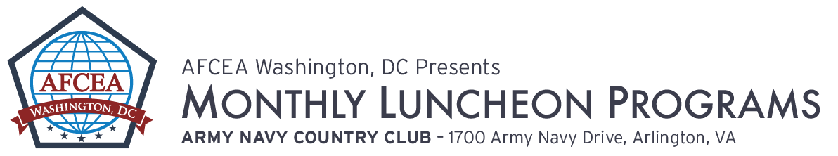 AFCEA Washington, DC October Luncheon – The Evolution of DOD's Space Components