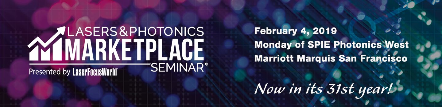 Lasers & Photonics Marketplace Seminar