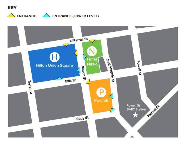 union square san francisco ca map, san francisco hotels civic center map, union square shopping map, on san francisco union square hotels map
