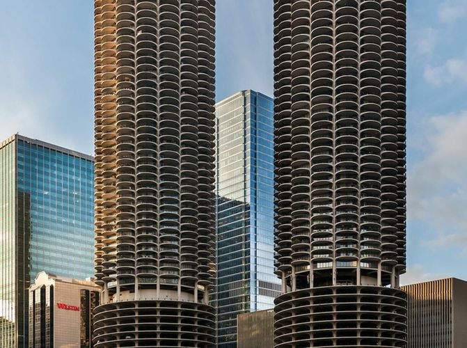 Marina City Chicago Illinois