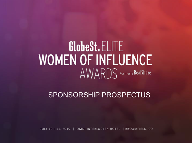 GlobeSt.ELITE: CRE Women of Influence