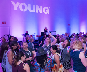 Young Reception: The Night is Young!
