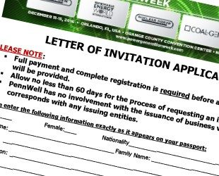 Letter of Invitation Application - Strategies in Light