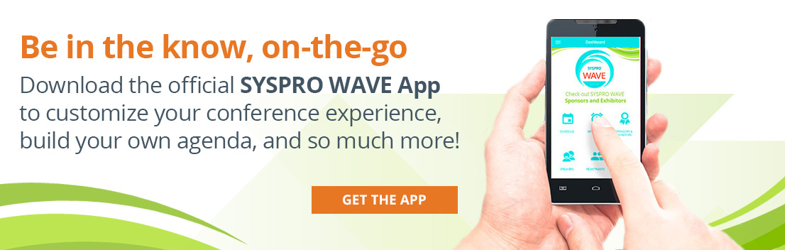 How to use the SYSPRO WAVE App.