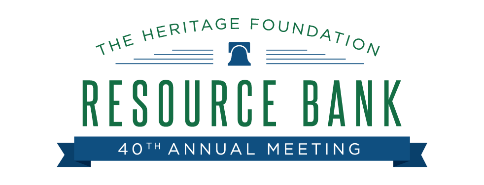 2017 Resource Bank Meeting