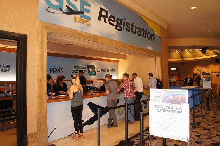International gse expo 2020 las vegas   gse expo registration area   international gse expo 2021