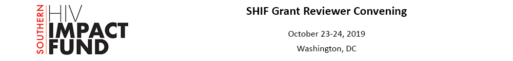 SHIF Grant Reviewer Convening