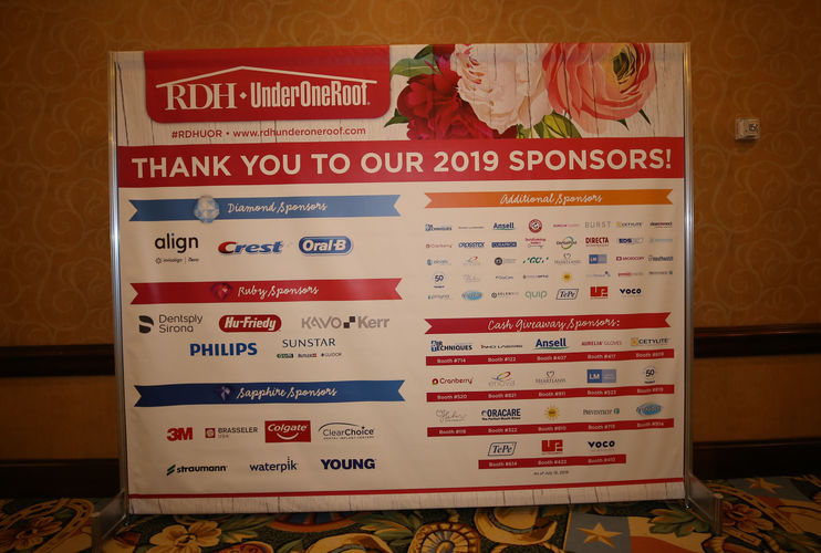 Sponsor at RDH Under One Roof