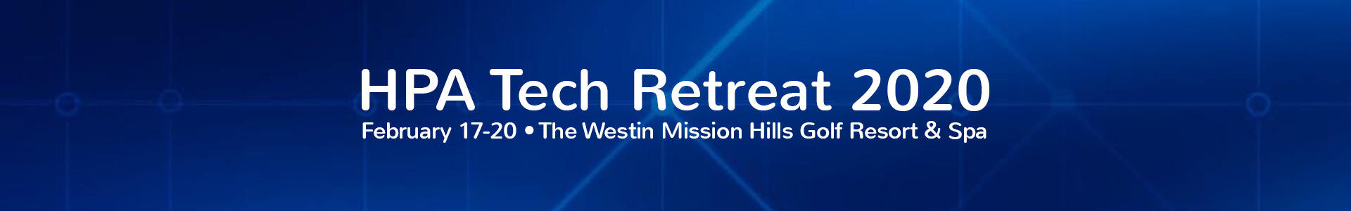 2020 HPA Tech Retreat