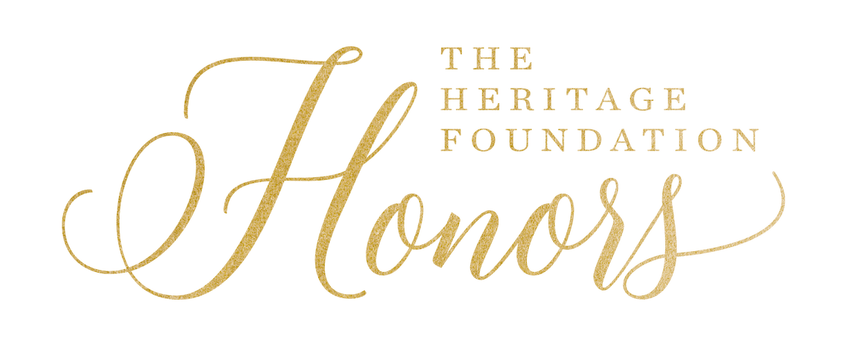 The Heritage Foundation Honors