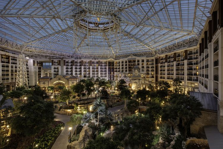 Atrium of the Gaylord Texan