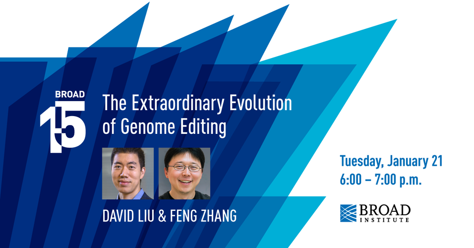 Broad@15: The extraordinary evolution of genome editing