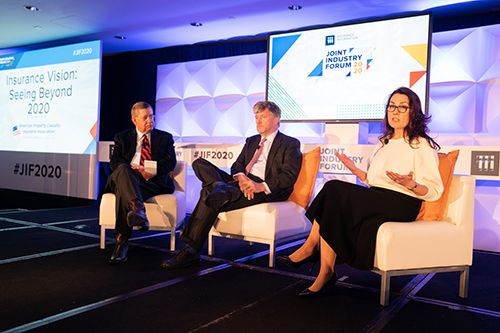 JIF 2020 panel: Insurance Vision: Seeing Beyond 2020