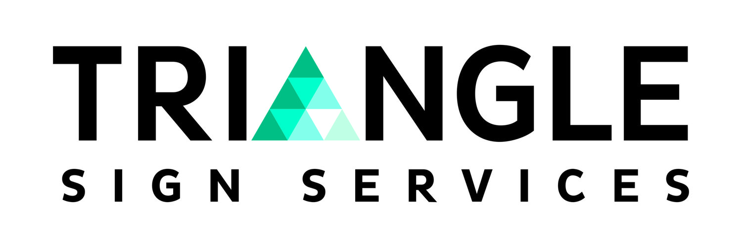 Triangle Sign Services