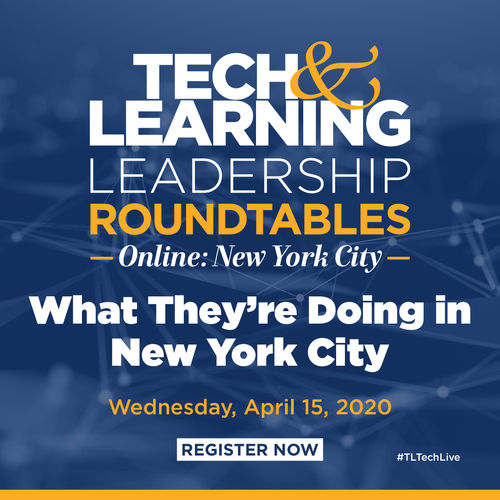 Tech & Learning Lunch & Learn Roundtable New York City