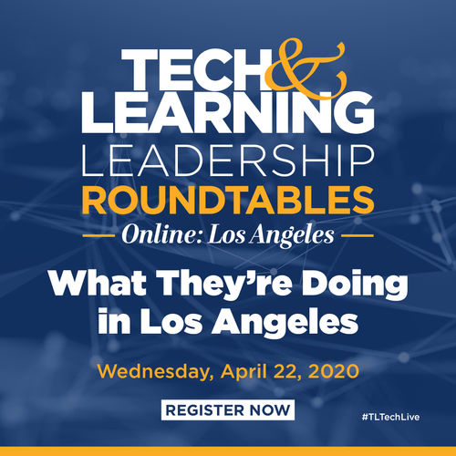 Tech & Learning Remote Learning Lunch & Learn Webinar