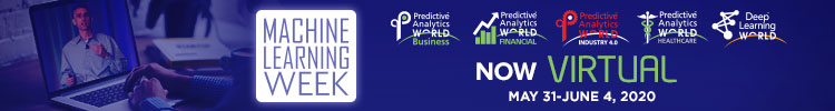Machine Learning Week: Predictive Analytics World & Deep Learning World Virtual 2020