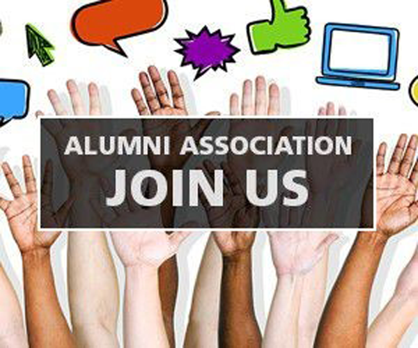 Link to Alumni Association sign up.