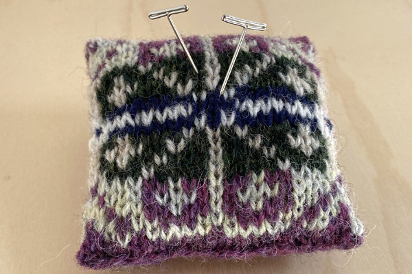 Fair Isle Pincushion