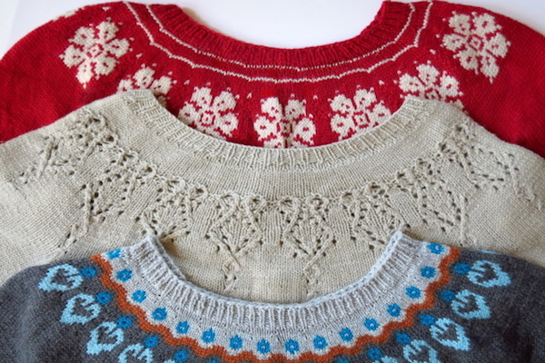 Designing Your Own Round Yoke Sweater with Motifs