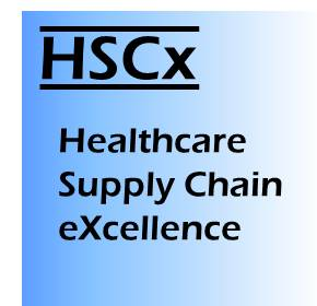Healthcare Supply Chain eXcellence