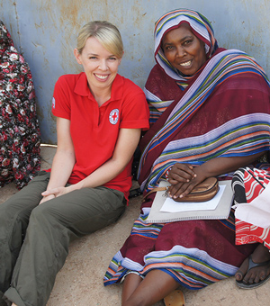 Q&A with Red Cross aid worker Ruth Jebb