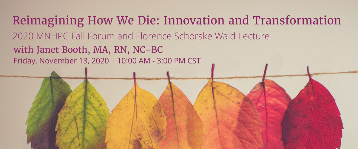Re-Imagining How We Die: Innovation & Transformation