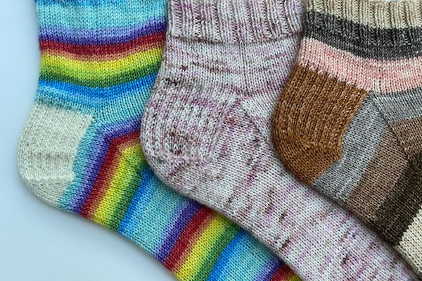 No Fear Sock Knitting