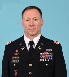 "COL Ronald ""R.J."" Hughes, U.S. Army"