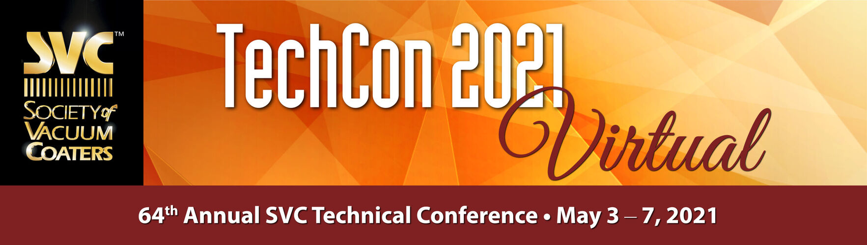 TechCon 2021 - Society of Vacuum Coaters - Virtual Conference