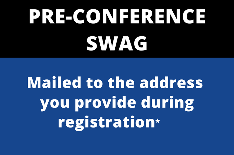 Pre-Conference Swag Graphic Box