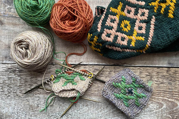 Roosimine: Estonian Inlay Knitting