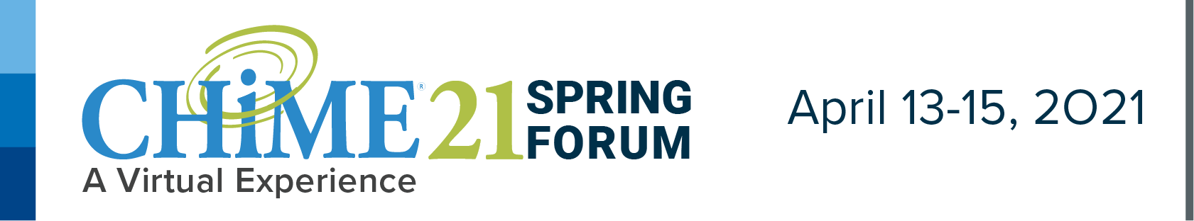 CHIME21 Spring Forum - A Virtual Experience