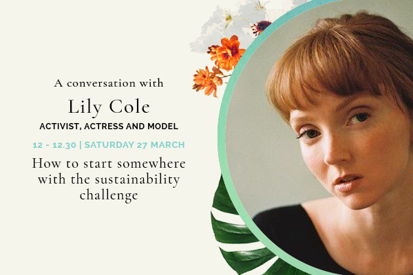 Lily Cole - How to start somewhere with the sustainability Challenge