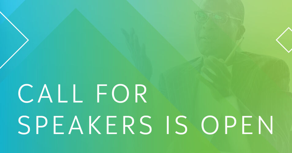 Call for speakers is open