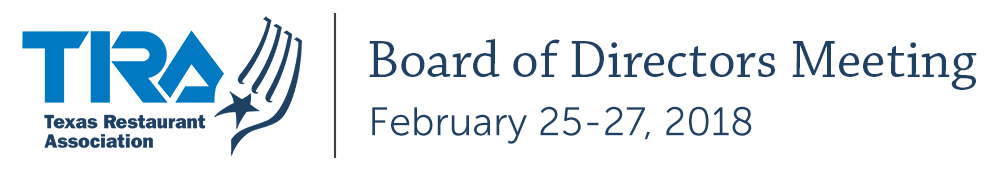 TRA Board of Directors February 2018 Meeting