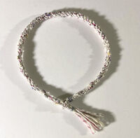 Shades of Winter Necklace - Kumihimo Braiding with Texture