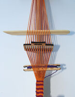 Modern  Strap & Rigid Heddle  Weaving:  Using A Heddle & Loom Stand