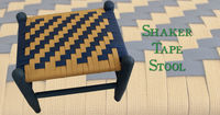 Shaker Tape Stool