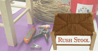 Weave a Rush Stool